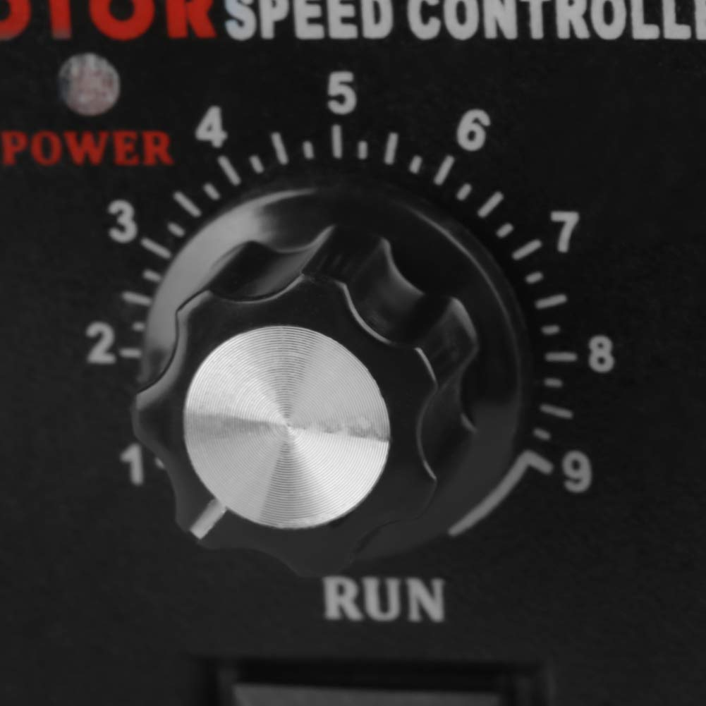 Speed Controller, 400W Motor Speed Controller Governor or AC 220V Motor Speed Controller Forward & Backward Suitable for Printing, Electronics, Instrumentation, Medical Equipment by Aufee (Image #4)