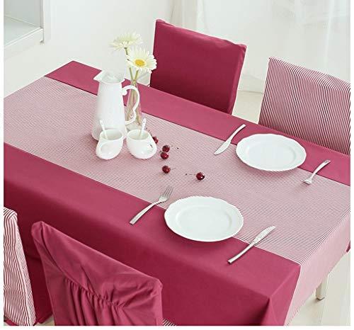 rouge 140200cm YHEGV Nappe de Table à Coudre de Nappe de Table de Tissu Table de Table de Tissu de Table Basse (Couleur  Rouge, Taille  140  200cm)