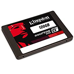 Kingston Digital 120GB SSDNow V300 SATA 3 2.5 Solid State Drive (SV300S37A/120G)