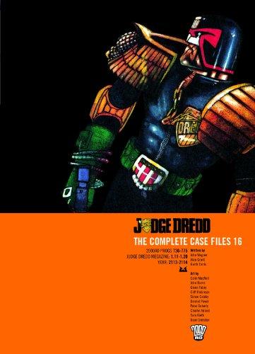 Judge Dredd: The Complete Case Files, Vol. 16- 2000 AD Progs 736-775