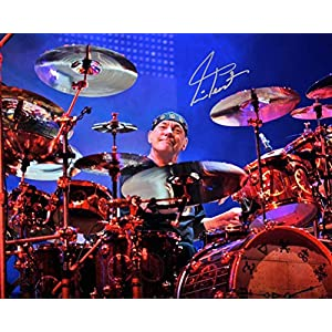 Neil Peart drummer of RUSH reprint signed 8×10 photo #5