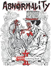 Abnormality 2: Haunting Visions | Horror Coloring Book for Adults | An Extra Terrifying Collection of Creepy, Spine-Chilling & Gorgeous Illustrations for Adults