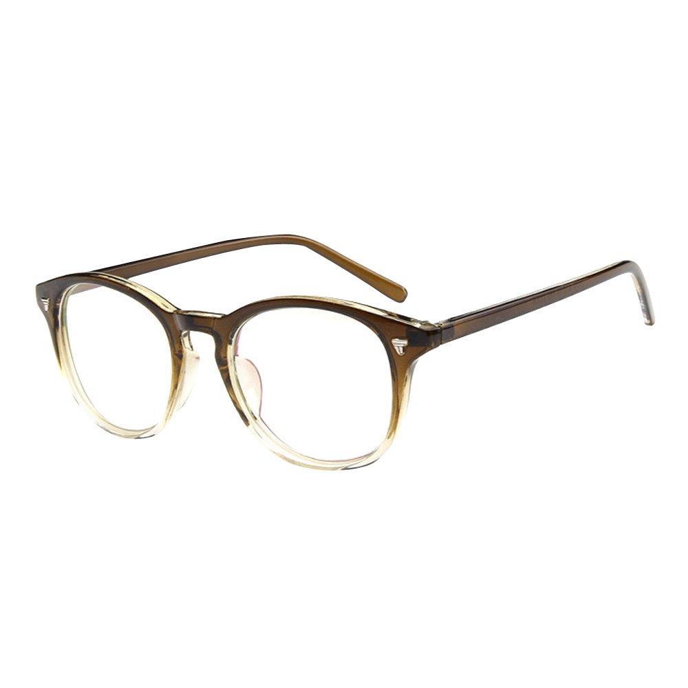 Forepin® Unisex Clear Lens Transparent Plain Eye GlassesFrame Eyewear Sunglasses Clear lens glasses