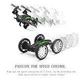 RC Quadcopter with HD Camera Flying Car Drone FPV Helicopter Toy for Kids DIY Beginner Aircraft Gift 2 Batteries