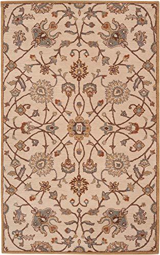 8' x 11' Rectangular Surya Area Rug CAE1081-811 Laurel Oak Color Hand Tufted in India