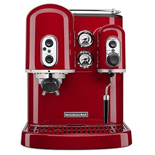 KitchenAid KES2102ER Pro Line Series Espresso Maker with - Kitchenaid Coffee Maker Red