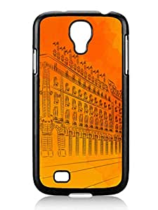 Architecture Case - Parisian-Sunsets silicone cases cover for Samsung Galalxy S4 I9500 case
