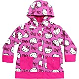 Western Chief Girls Hello Kitty Rain Coat (Pink, 5)
