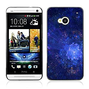 Graphic4You 3D Digital Pattern Design Hard Case Cover for HTC One (M7)