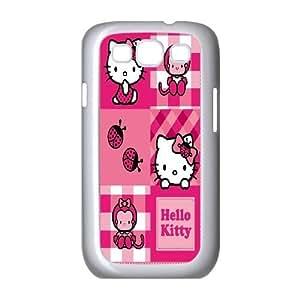 Steve-Brady Phone case Cute Cartoon Hello Kitty For Samsung Galaxy S3 Pattern-19
