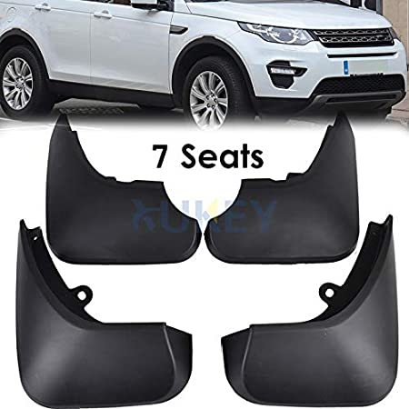 Upgraded Car Mud Flaps Mudguards for Land Rover Discovery 2015-2017 Front Rear Splash Guards Car Fender Styling /& Body Fittings Black 4Pcs