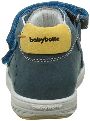babybotte Jungen Antilles Hohe Hausschuhe Bleu (Canard)