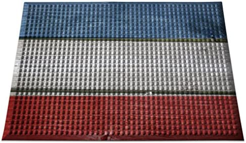 Ergomat IN-0203-05 Home Edition Anti-Fatigue Graphic Floor Mats Flag Plank Bubble 2 x 3