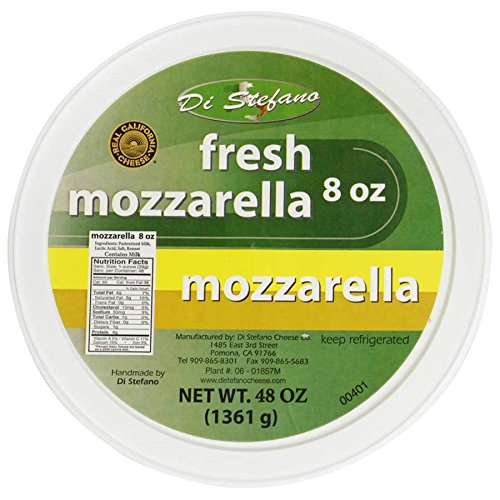 Fresh Mozzarella - Large - 3 lbs container - Fresh Mozzarella