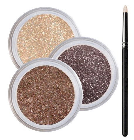 Brown Eyes Smokey Mineral Eyeshadow Kit - 100% Pure All Natu