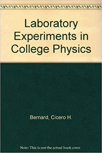 Laboratory Experiments in College Physics - Books