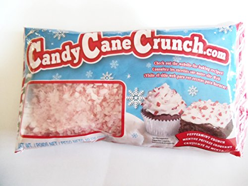 Crushed Peppermint Candy - Festival Candy Cane Peppermint Crunch 10 Oz (Pack of 2)