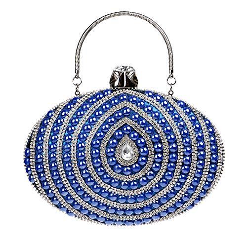 Mano Para De Santimon Mujer Azul 20180402143 S Sintético Cartera wUnTPt