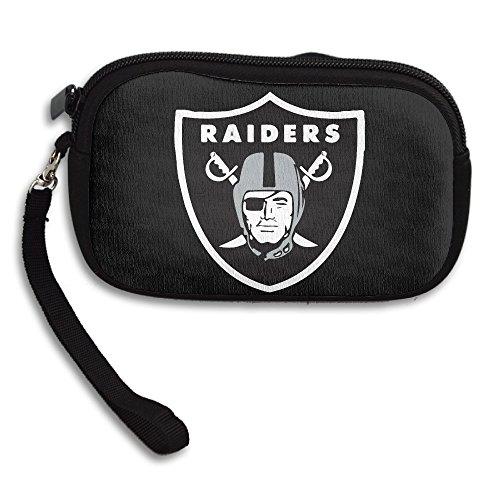 Amurder Ken Stabler 12 Raiders Fashion Money Wallet Pouch Bag Black