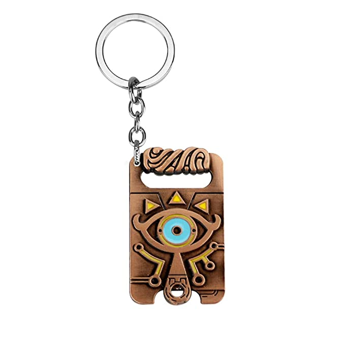 Amazon.com: yuesha aiyin The Legend Of Zelda emblema llavero ...