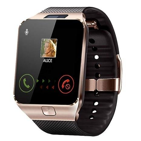 Amazon.com: HAUNHA Mens Smart Watch Camera SIM Card Call ...