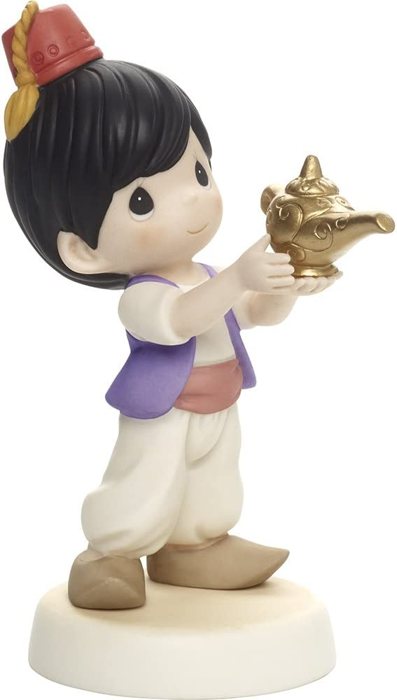Precious Moments, Disney Showcase Aladdin Figurine, You're My Favorite Wish, Porcelain, #171092