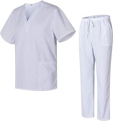 Uniformes Uno Pijamas Sanitarios Unisex con Casaca y Pantalones Limpiezas 3051