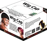 Beauty Town Wig Cap 100 Pieces Bulk Bag - Black, Secures your hair, long lasting, stays in place, light, lightweight, breathable, wig comfortable