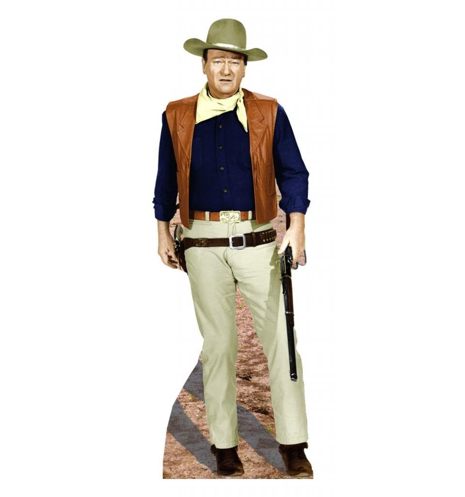 John Wayne ''Rifle at Side'' - Advanced Graphics Life Size Cardboard Standup