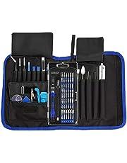 INLIFE 81 en 1 Juego Destornilladores Kit de Destornillador Completo con Múltiples Funciones Herramientas de Precisión para Reparar Teléfono Tableta Reloj