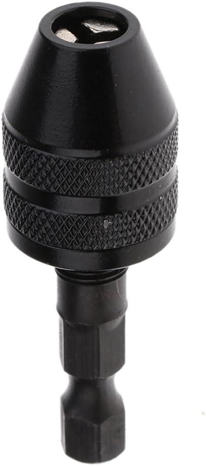 1/4 pulgadas convertidor Sin Llave De Mandril Adaptador De Vástago Hexagonal 0.3-3.4mm Cambio Rápido