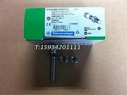 Telemecanique xs608b1pbm12 inductiva Sensor de proximidad 8 mm 12 – 48 VDC, SS, 1