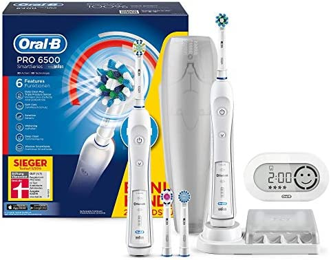 Oral-B Smart Series 6500 Electric Rechargeable Toothbrush Powered by Braun  - Two Handle Pack - Amazon Exclusive  Amazon.co.uk  Health   Personal Care 5205d313a45b6