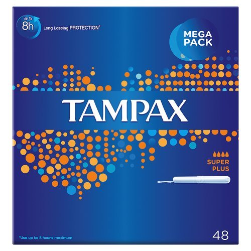 Tampax Tampons Applikator Super Plus (48)