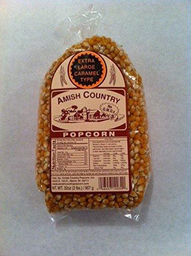Amish Country Popcorn Extra Large Yellow 2 Pound Bag