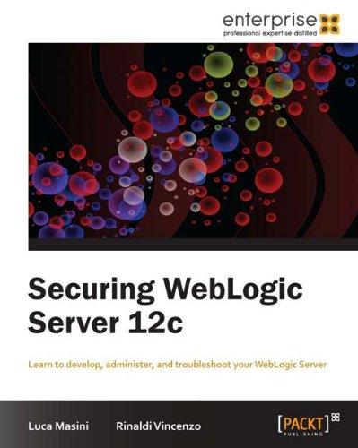 Securing WebLogic Server 12c Pdf