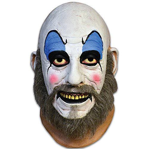 Trick or Treat Studios Men's House Of 1 000 Corpes-Captain Spaulding Mask, Multi, One Size ()
