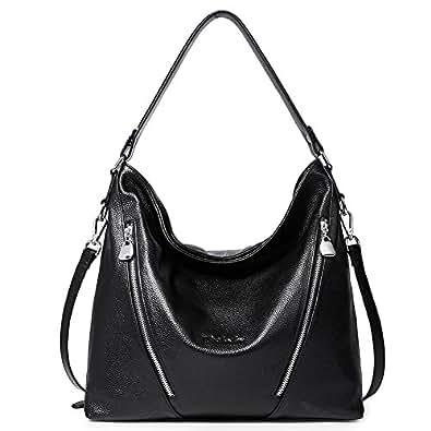 85ed48255049 Amazon.com  BOSTANTEN Women Leather Handbag Designer Large Hobo ...