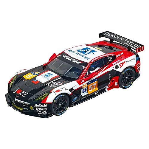 Carrera Of America Chevrolet Corvette C7R Aai Motorsports, No.57 Digital 124 Slot Car (Corvette Chevrolet Carrera)