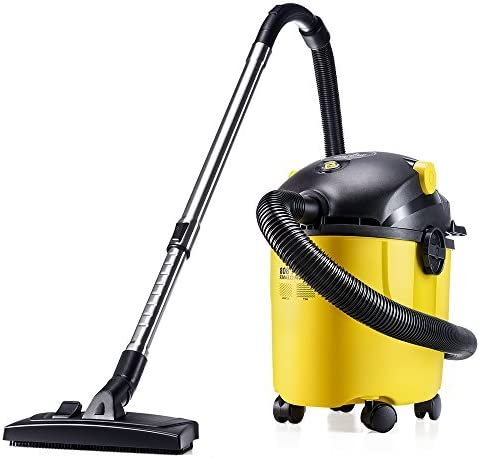 pupp Yoo wp808 aspirador/multiusos en seco húmedo (800 W, incluye 4 Cepillo perfecto, 8,5 m Acción Radius, 10 L de depósito) Amarillo & Negro: Amazon.es: Hogar