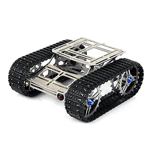 SainSmart ALL Metal Robot Tracks Development Platform FPV for Arduino-Rover V2.0