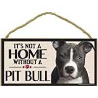 Imagine This Wood Sign for Pit Bull Dog Breeds