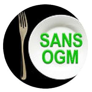 alfombrilla de ratón SANS OGM - ronda - 20cm