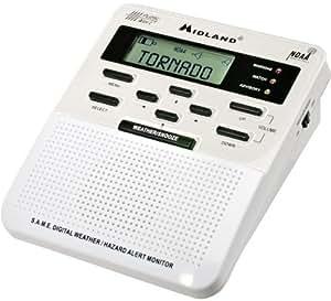 Midland WR-100 WeatherAlert All-Hazard Weather Radio (Discontinued by Manufacturer)