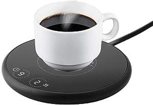 Coffee Mug Warmer,Coffee Warmer for Desk, Mug Warmer with Auto Shut Off, Coffee Cup Warmer for Coffee Milk Tea, Candle Wax Cup Warmer Heating Plate