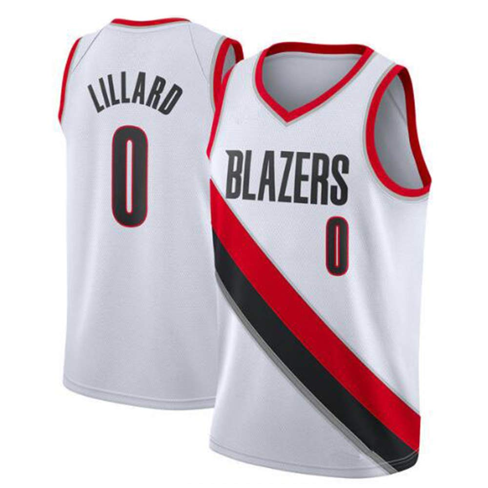 Wszs Uniforme da Basket New Fabric Basketball Jersey New Urban Version of The Jersey Portland Trail Blazers 0th