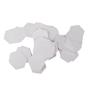 Papierformen Sechseck 1-1//2-Inch Dritz 3231