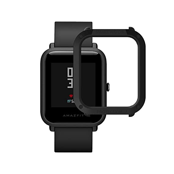 Xiaomi Huami Amazfit Watch Frame Case Protective Hard PC Bumper Case For Huami Amazfit Bip Bit