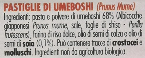 Amazon.com: Probios Macrobiotic Tablets Of 10g Umeboshi: Health & Personal Care