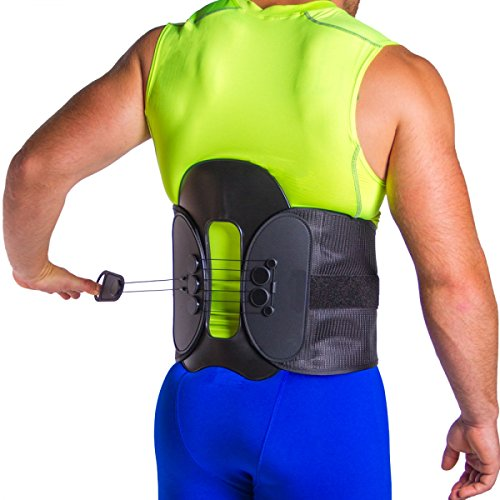 MAC Plus Lumbar Spine Decompression Back Belt & Laminectomy Surgery Recovery Brace-S by Cybertech Medical